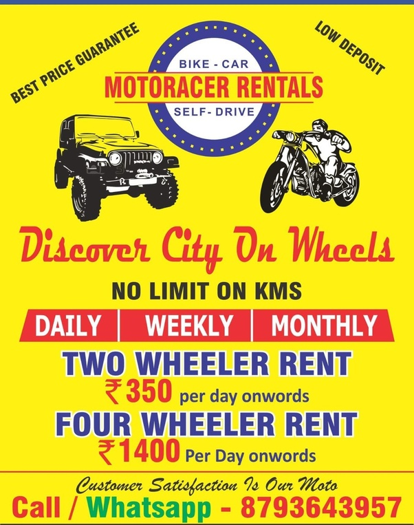 Where Can I Rent A Bike For A Day In Pune Near Hinjewadi Or Wakad