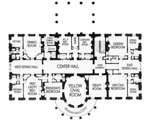 How many bedrooms does the White House have? - Quora
