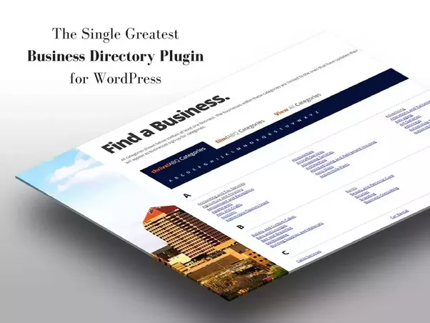 If You Ve Already Selected A Theme Can Use Plugin To Accomplish This The WordPress Business Directory Is Going Be Your Best Bet