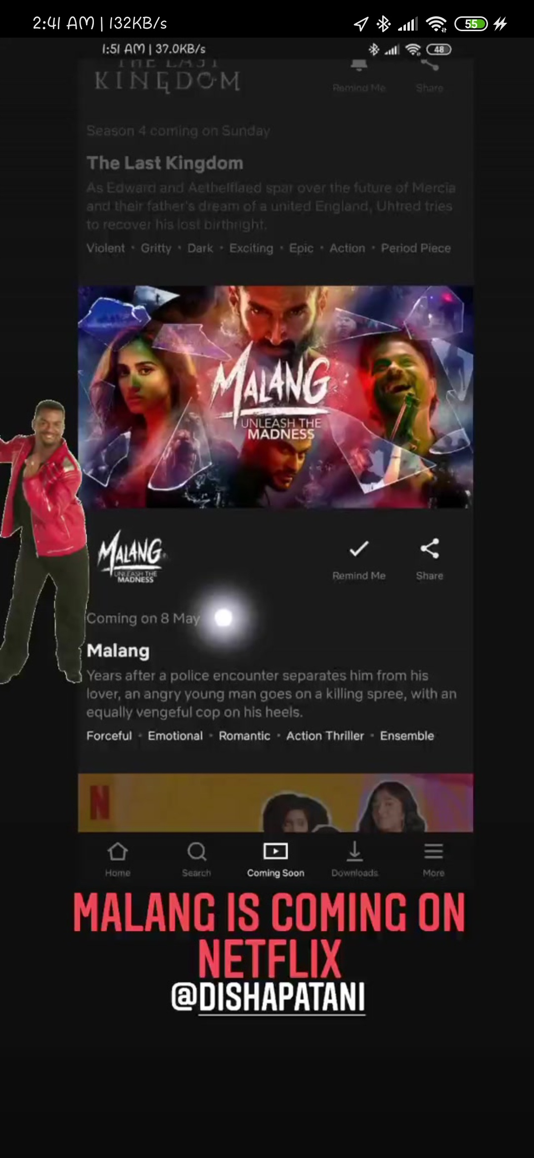 When Will The Hindi Movie Malang 2020 Be Streamed Online And On Which Video Platform Will It Be Netflix Prime Or Any Other Platform Quora