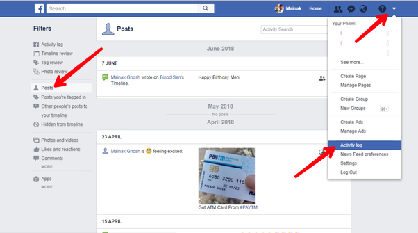 How to delete all my posts on Facebook at once using an
