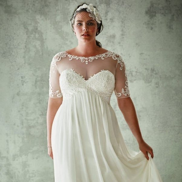 Where can I get best quality wedding dresses for plus size in ...