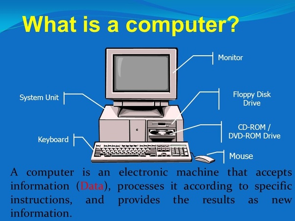 What Is A Computer Quora