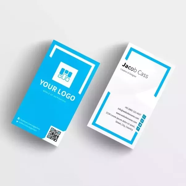 you can use this business card template both in your personal and commercial projects - Salesforce Business Card Scanner
