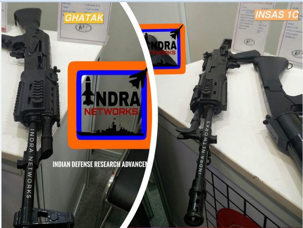 Which rifle would you choose to replace the INSAS rifles in the