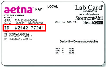 Policy Number Humana Insurance Card