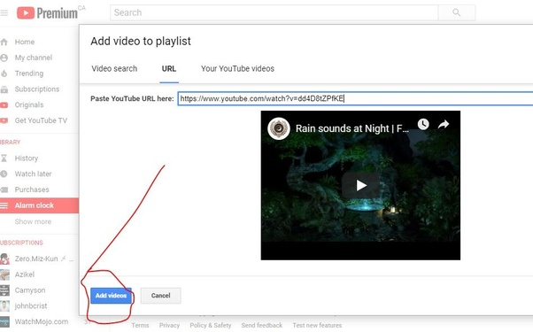 How to add or duplicate the same video to the same YouTube