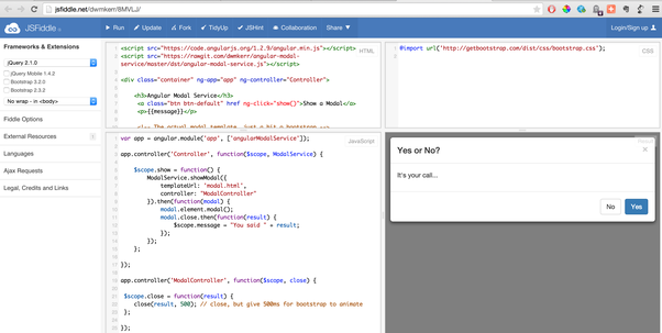 Why Am I Not Able To Open A Modal Using This Code Angular Modal