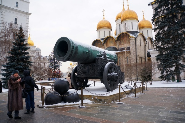 Tzar Cannon in the Kremlin