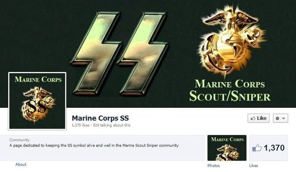 Why Are Marine Corps Scout Snipers Using The Logo Of The Nazi Ss