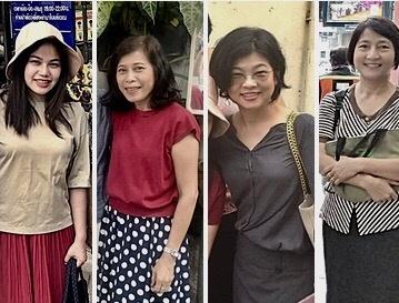 Women mature thai Having a