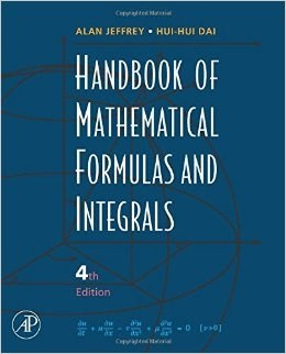 crc standard mathematical tables and formulae 32nd edition