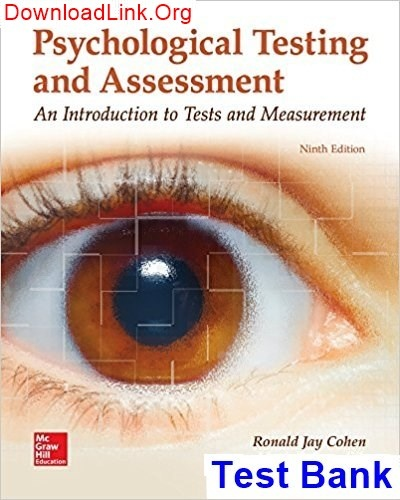Where can I download the Psychological Testing and Assessment 9th