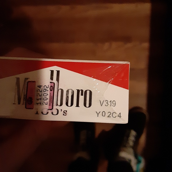 Date code cigarettes Dating a