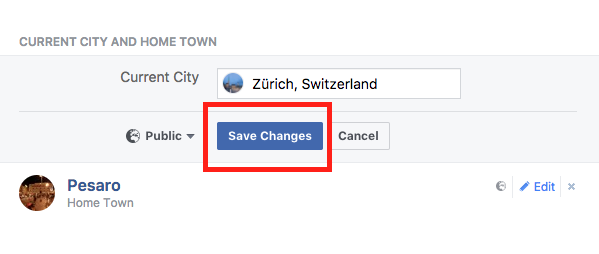 How To Post A Moved To Status On Facebook With The House Symbol