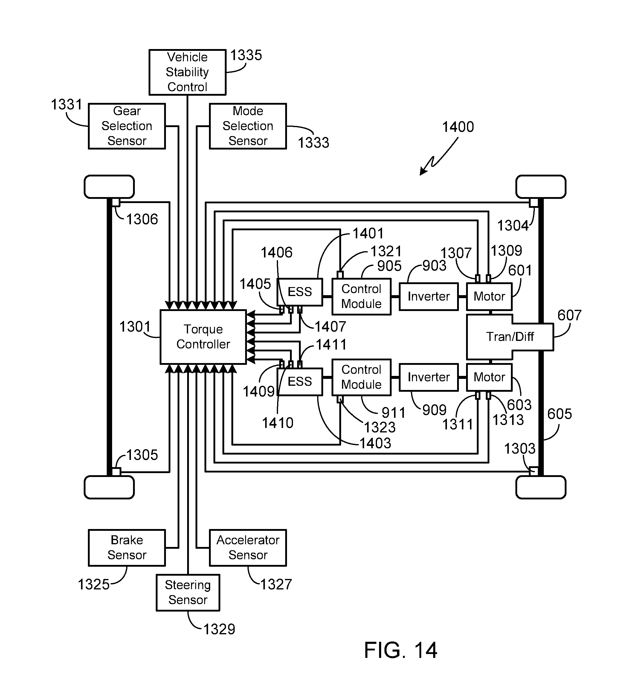 Electric Car Schematic Diagram