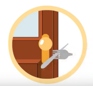 How to secure a door without a lock - Quora