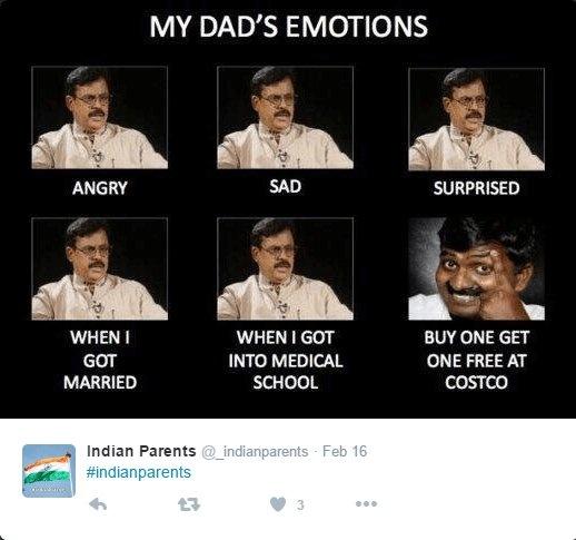 My Indian dad emotions