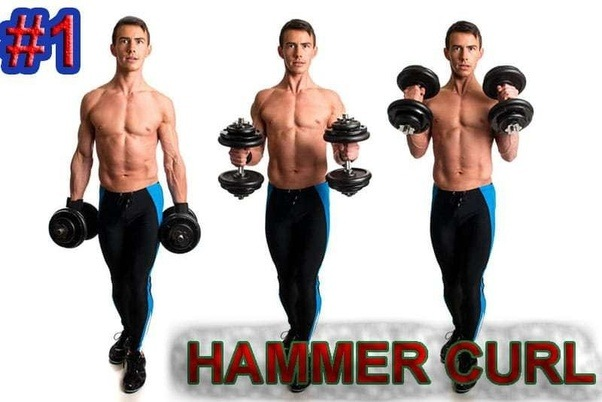 how to get stronger biceps at home
