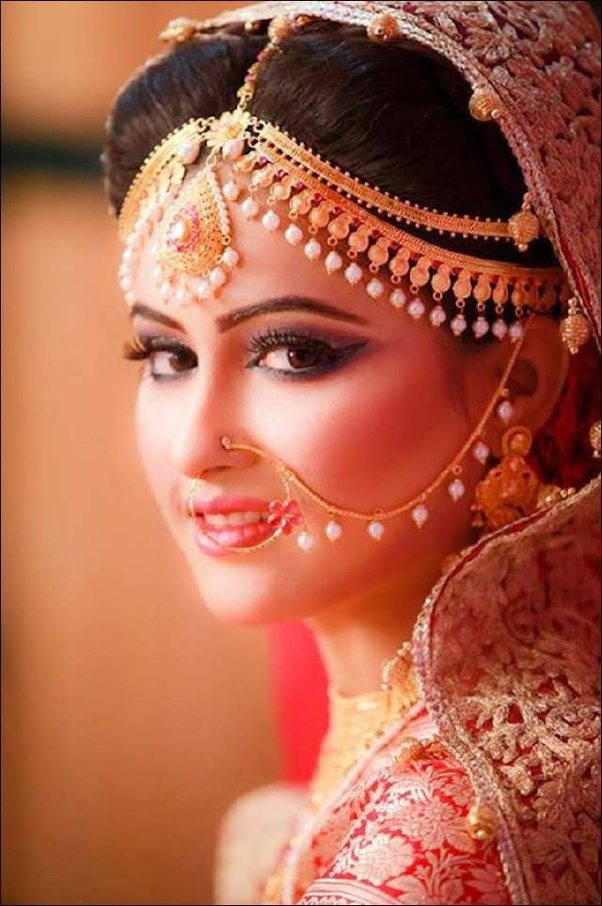 Where can I find the best designs for bridal naths? - Quora