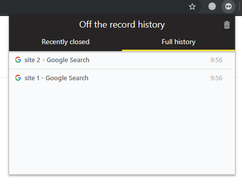 How to restore history from incognito mode - Quora