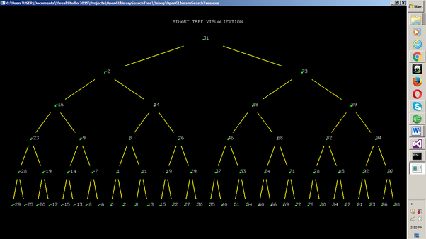 How to implement a binary tree using graphics in CPP - Quora