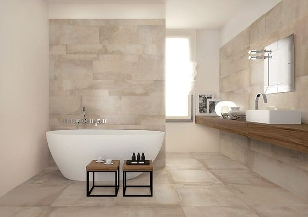 Can I mix and match my bathroom tiles? - Quora
