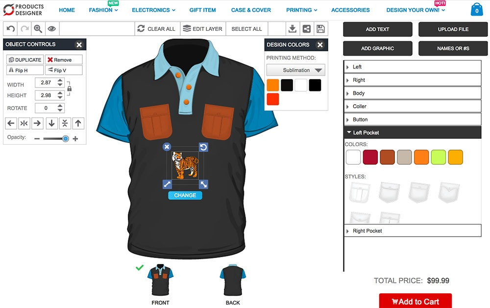 096ac861c Developing a tool yourself to implement product customization in your store  is doable