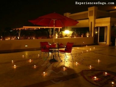 The Lalit  This Is Again A Private Pool Side Candlelight Dinner. It Is A  Must Visit Place To Create Memories With Your Partner. The Decoration Of  Your Table ...