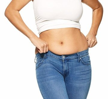 bellies with Skinny girls fat