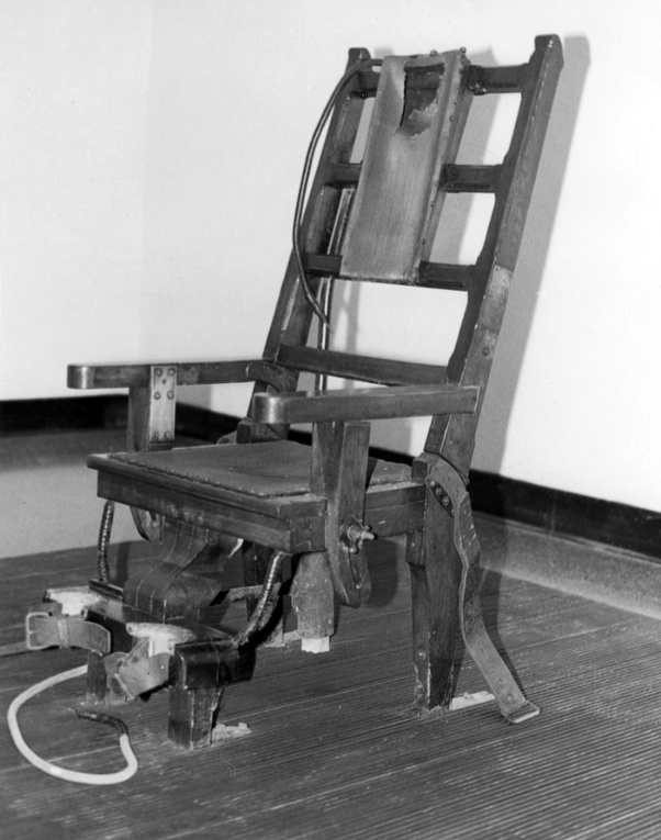 Tremendous How Would You Behave Walking To An Electric Chair Would You Cjindustries Chair Design For Home Cjindustriesco