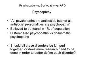 disorder sexual deviation Antisocial personality