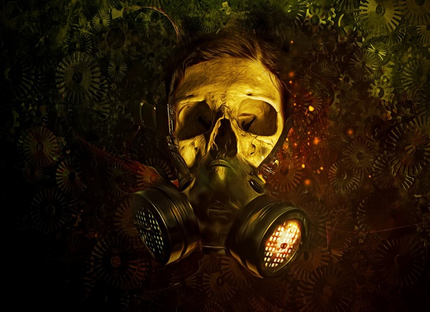 masque anti gaz toxique