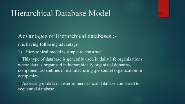 Why is a hierarchical DB faster than RDBMS? - Quora