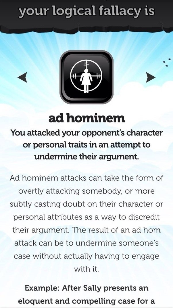 What Are Ad Hominem Fallacies Quora