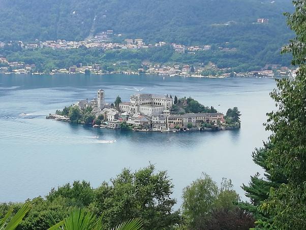 isola di San Giulio, canoa, pagaiare, slow travel