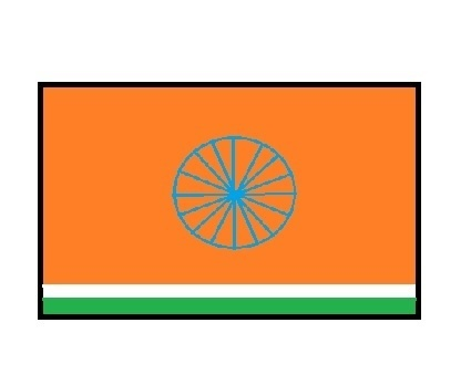 If You Asked To Redesign The Flag Of Indian Political Parties For