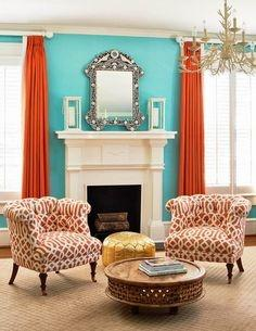 What Curtains Go With Turquoise Walls Quora