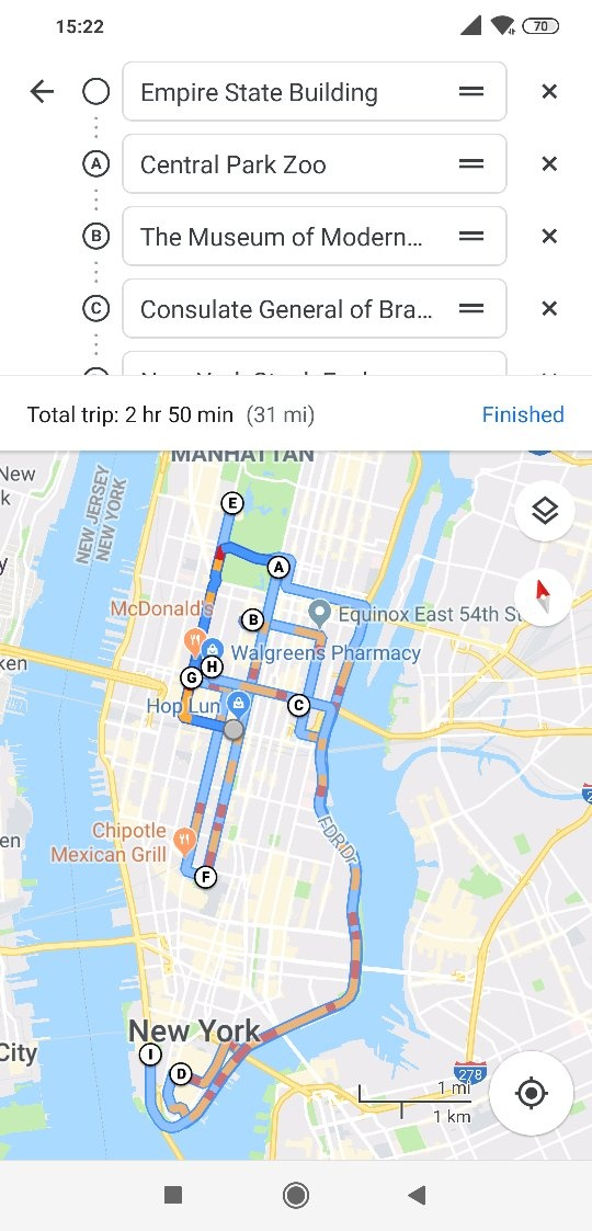 Can Google Maps, Waze, or any other apps design the shortest ... on