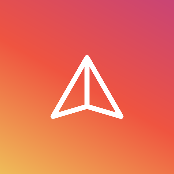 What does the arrow on your Instagram post insights mean? - Quora