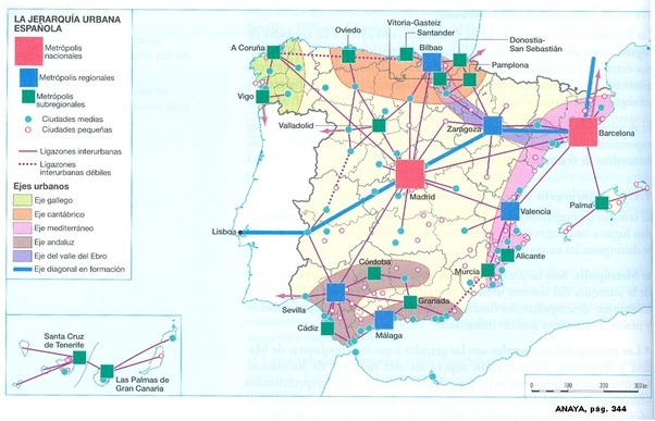 What are the most important cities to Spains economy Quora