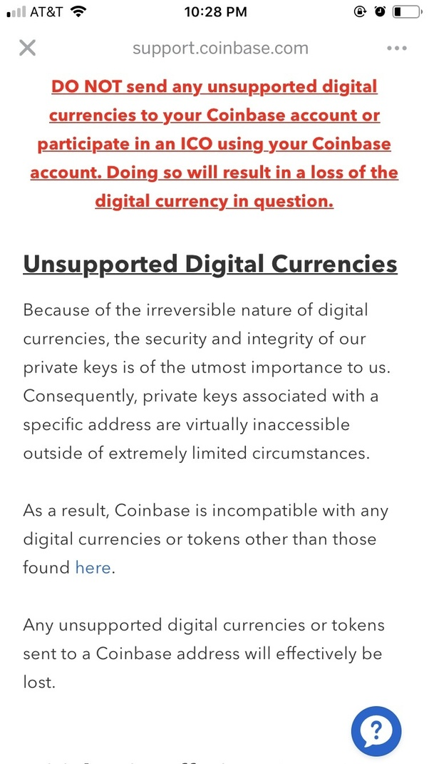 coinbase support contact
