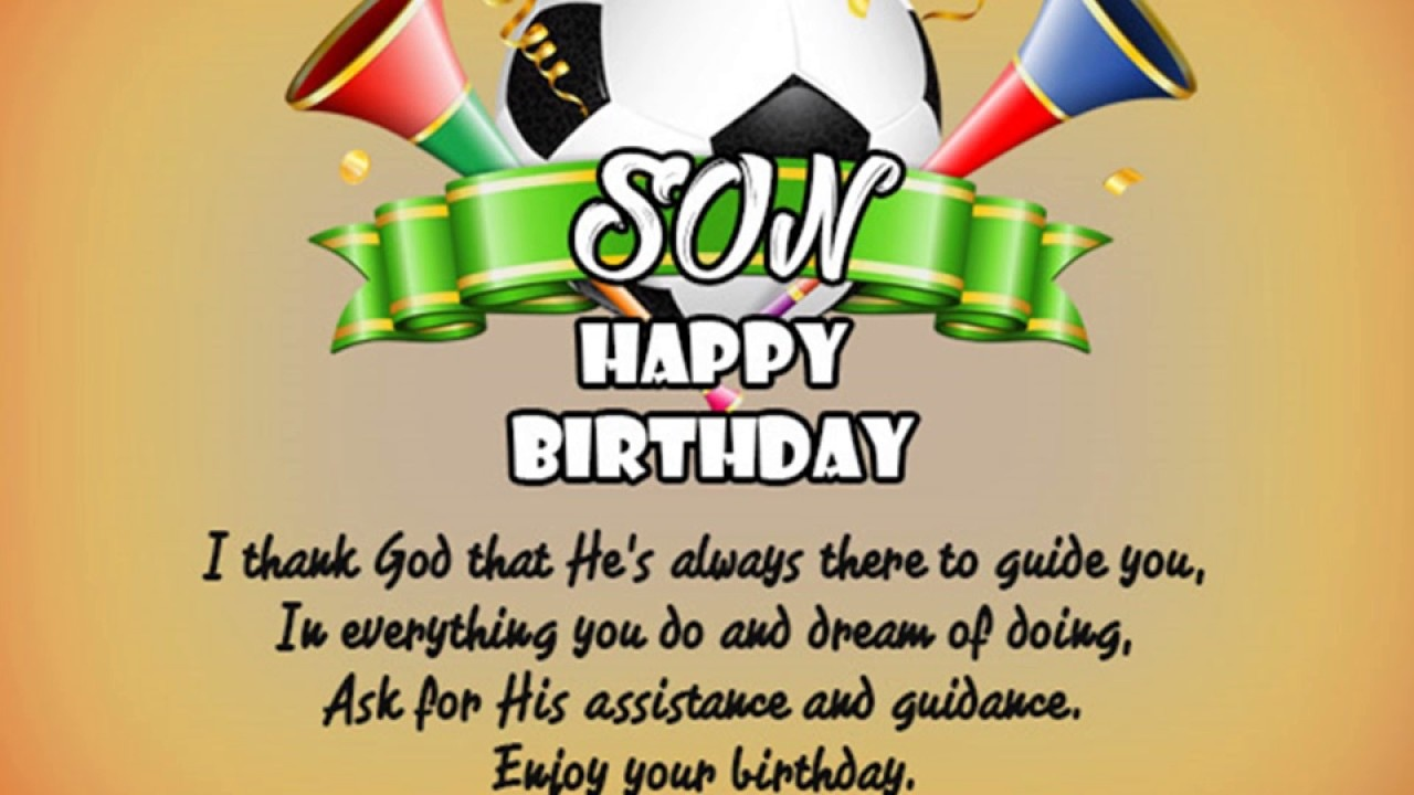 If You Want More Birthday Wishes For Your Son Then Click On The Link Above