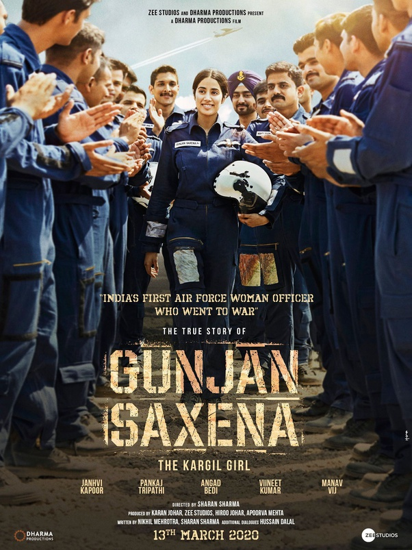 What Is Your Review Of Gunjan Saxena The Kargil Girl 2020 Movie Trailer Or Teaser Quora