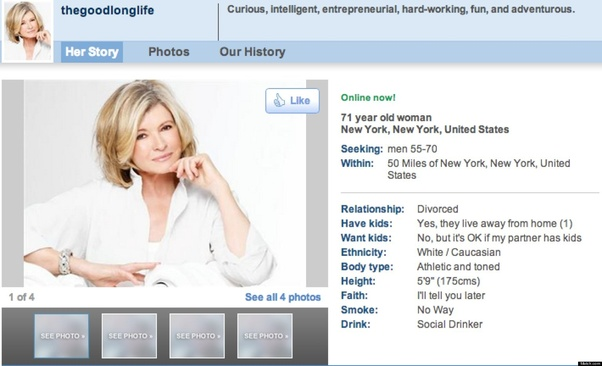 LESSIE: Setting up an online dating profile