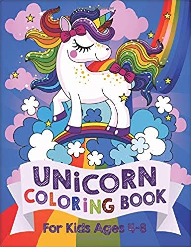 Where Can I Download Unicorn Coloring Book For Kids Ages 4