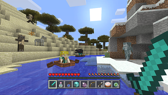 Is it easy to play Minecraft on a laptop? - Quora