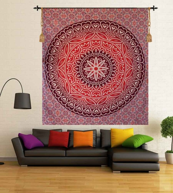 You Can Use Wall Arts, Wall Stickers, DIY Wall Decoration Products And So  On, For Giving An Eye Catching Look To Your Walls.