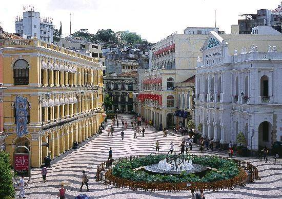 Its An Interesting City Which The Constructions Are In A Mixture Of Traditional Chinese And Portuguese Culture