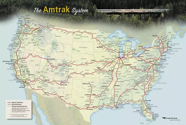 What are the best Amtrak routes between the East Coast either
